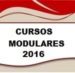 Cursos Modulares 2016 (1º semestre)