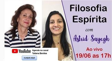 Live Astrid Sayegh com Tatiana Benites em 19/06/2020