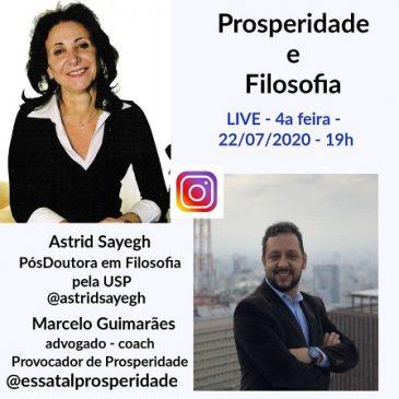 Live Astrid Sayegh – Prosperidade e Filosofia em 22/07/2020
