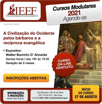 Cursos Modulares 2021 (2º semestre – on-line) – Encerradas